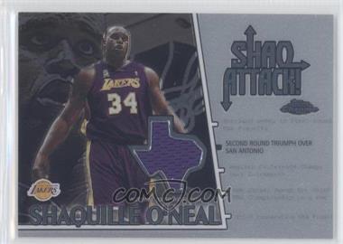 2002-03 Topps Chrome Shaq Attack! #SAC2 - Shaquille O'Neal