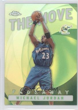2002-03 Topps Chrome The Move Refractor #TM6 - Michael Jordan