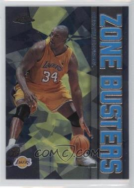 2002-03 Topps Chrome Zone Busters #ZB1 - Shaquille O'Neal