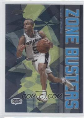 2002-03 Topps Chrome Zone Busters #ZB11 - Tony Parker