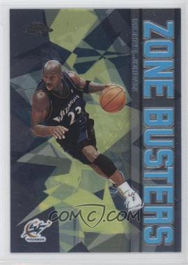2002-03 Topps Chrome Zone Busters #ZB13 - Michael Jordan