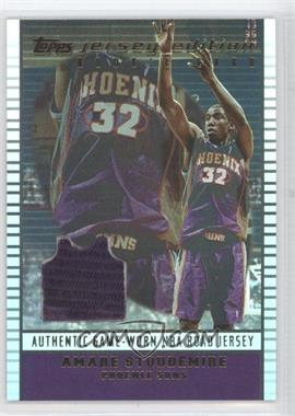 2002-03 Topps Jersey Edition - [Base] #je AS - Amar'e Stoudemire