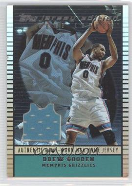 2002-03 Topps Jersey Edition Copper #je DGO - Drew Gooden /299