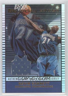 2002-03 Topps Jersey Edition #je KG - Kevin Garnett