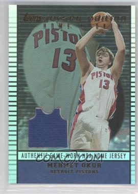 2002-03 Topps Jersey Edition #je MOK - Mehmet Okur