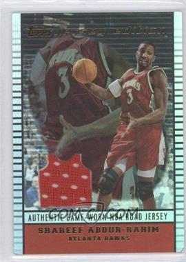 2002-03 Topps Jersey Edition #je SA - Shareef Abdur-Rahim