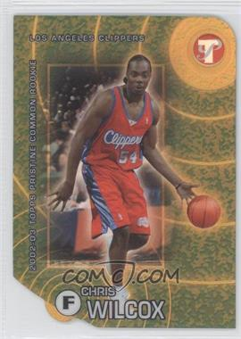 2002-03 Topps Pristine Gold Refractor #72 - Chris Wilcox /99