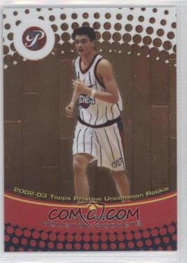 2002-03 Topps Pristine #52 - Yao Ming /1499