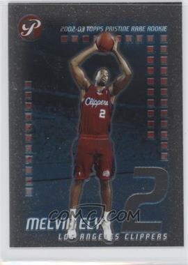 2002-03 Topps Pristine #86 - Melvin Ely /499