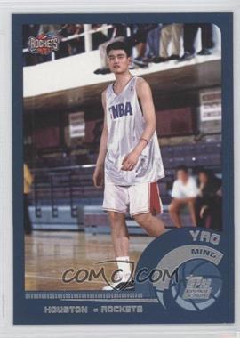 2002-03 Topps #185 - Yao Ming