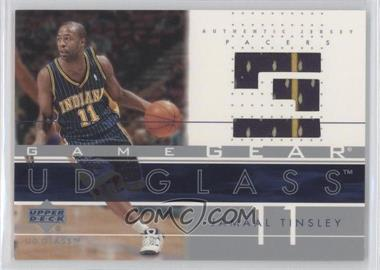 2002-03 UD Glass Game Gear #JT-GG - Jamaal Tinsley