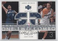Jared Jeffries, Juan Dixon /125