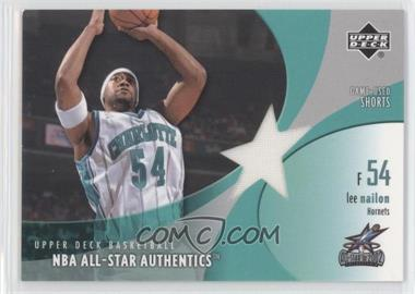 2002-03 Upper Deck All-Star Authentics Game-Used Shorts #LN-AS - Lee Nailon
