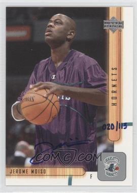 2002-03 Upper Deck Buyback Autographs [Autographed] #242 - Jerome Moiso /113