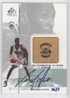 Jamaal Magloire (00-01 SP Game Floor Edition Authentic Floor) /17