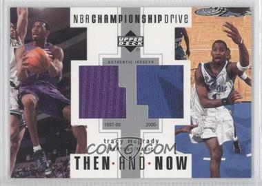 2002-03 Upper Deck Championship Drive - Then And Now Jersey #TN-TM - Tracy McGrady