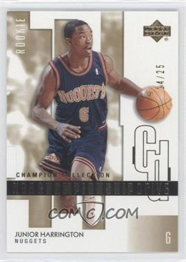 2002-03 Upper Deck Championship Drive Gold #148 - Junior Harrington /25