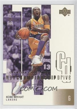 2002-03 Upper Deck Championship Drive Gold #37 - Kobe Bryant /125