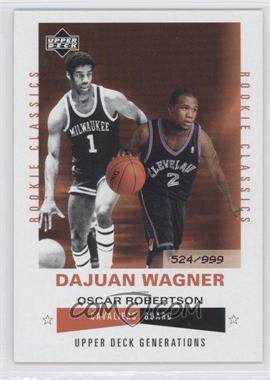 2002-03 Upper Deck Generations #198 - Dajuan Wagner /999