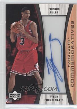 2002-03 Upper Deck Hardcourt Hardcourt Commemoratives #TC-C - Tyson Chandler