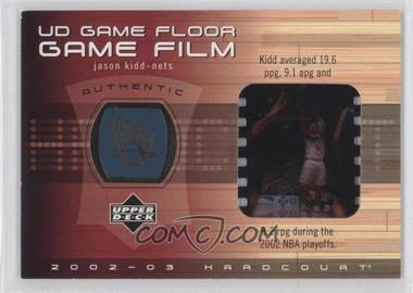 2002-03 Upper Deck Hardcourt UD Game Floor Game Film #JK-FF - Jason Kidd