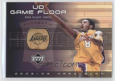 2002-03 Upper Deck Hardcourt UD Game Floor #KB-F - Kobe Bryant