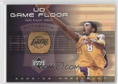 2002-03 Upper Deck Hardcourt UD Game Floor #KB-F - Kobe Bryant