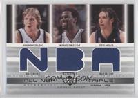 Dirk Nowitzki, Michael Finley, Steve Nash