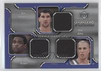 Peja Stojakovic, Chris Webber, Mike Bibby