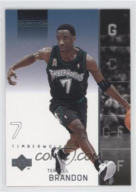 2002-03 Upper Deck Ovation #50 - Terrell Brandon