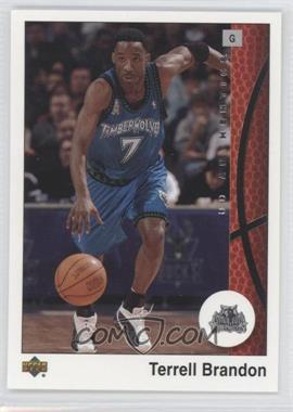 2002-03 Upper Deck UD Authentics #48 - Terrell Brandon