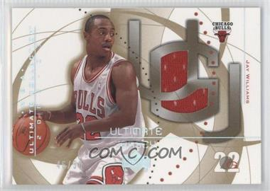 2002-03 Upper Deck Ultimate Collection - Ultimate Game Jerseys - Gold #JW - Jay Williams /50