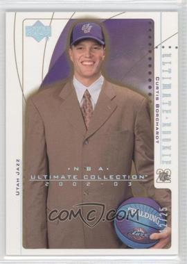 2002-03 Upper Deck Ultimate Collection Spectrum #114 - Curtis Borchardt /25