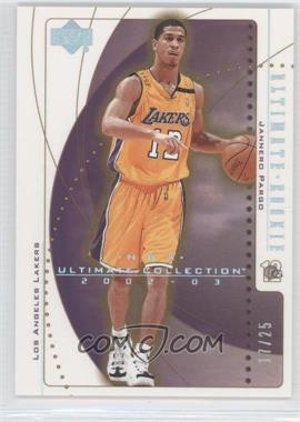 2002-03 Upper Deck Ultimate Collection Spectrum #119 - Jannero Pargo /25