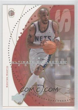 2002-03 Upper Deck Ultimate Collection Spectrum #38 - Kenyon Martin /25