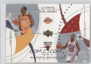 2002-03 Upper Deck Ultimate Collection Ultimate Dual Game Jerseys #KB/JW - [Missing] /125
