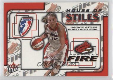 2002 Fleer Ultra WNBA - House Of Stiles #2HS - Jackie Stiles