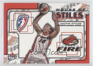 2002 Fleer Ultra WNBA House Of Stiles #3HS - Jackie Stiles