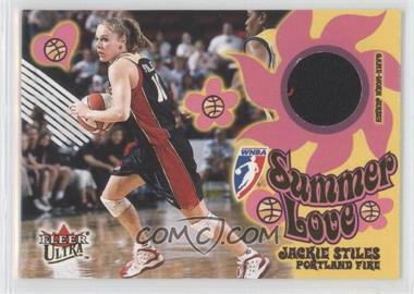 2002 Fleer Ultra WNBA Summer of Love #14 SL - Jackie Stiles