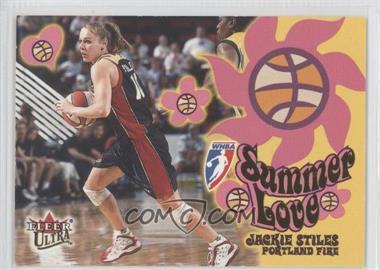 2002 Fleer Ultra WNBA Summer of Love #14 - Jackie Stiles