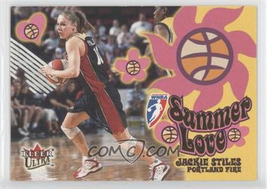 2002 Fleer Ultra WNBA Summer of Love #14 - Jackie Stiles