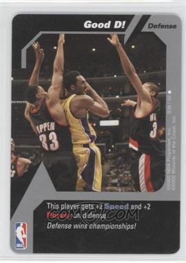 2002 NBA Showdown Strategy #S38 - Good D! (Kobe Bryant)