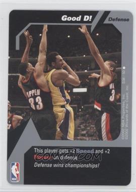 2002 NBA Showdown Strategy #S38 - Kobe Bryant
