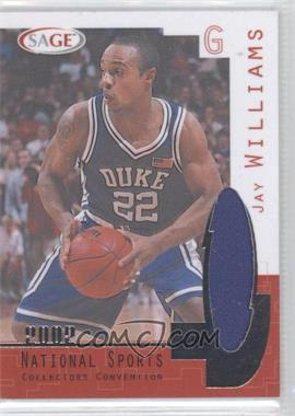 2002 SAGE - National Convention #N1 - Jay Williams
