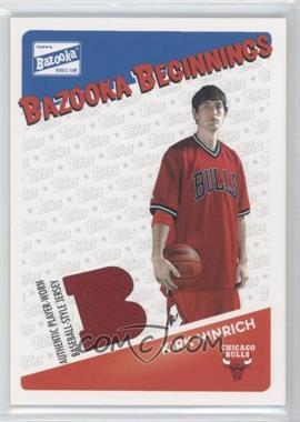 2003-04 Bazooka - Bazooka Beginnings Memorabilia #BBE-KH - Kirk Hinrich