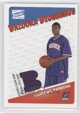 2003-04 Bazooka - Bazooka Beginnings Memorabilia #BBE-LB - Leandro Barbosa