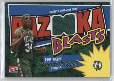 2003-04 Bazooka - Bazooka Blasts Memorabilia #BB-PP - Paul Pierce