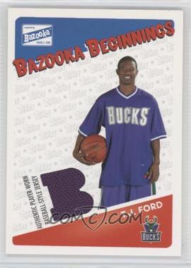 2003-04 Bazooka Bazooka Beginnings Memorabilia #BBE-BC - Brian Cook