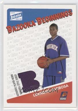 2003-04 Bazooka Bazooka Beginnings Memorabilia #BBE-LB - Leandro Barbosa