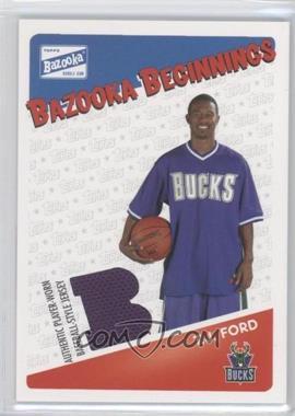 2003-04 Bazooka Bazooka Beginnings Memorabilia #BBE-TF - T.J. Ford